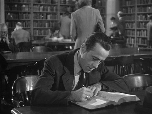 bogart in library